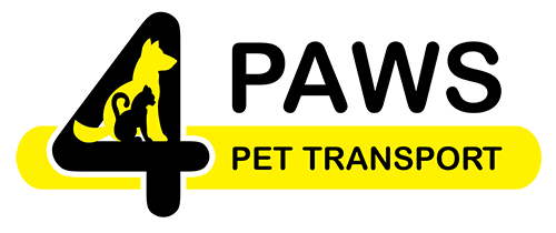 4 Paws Pet Transport Southampton UK logo